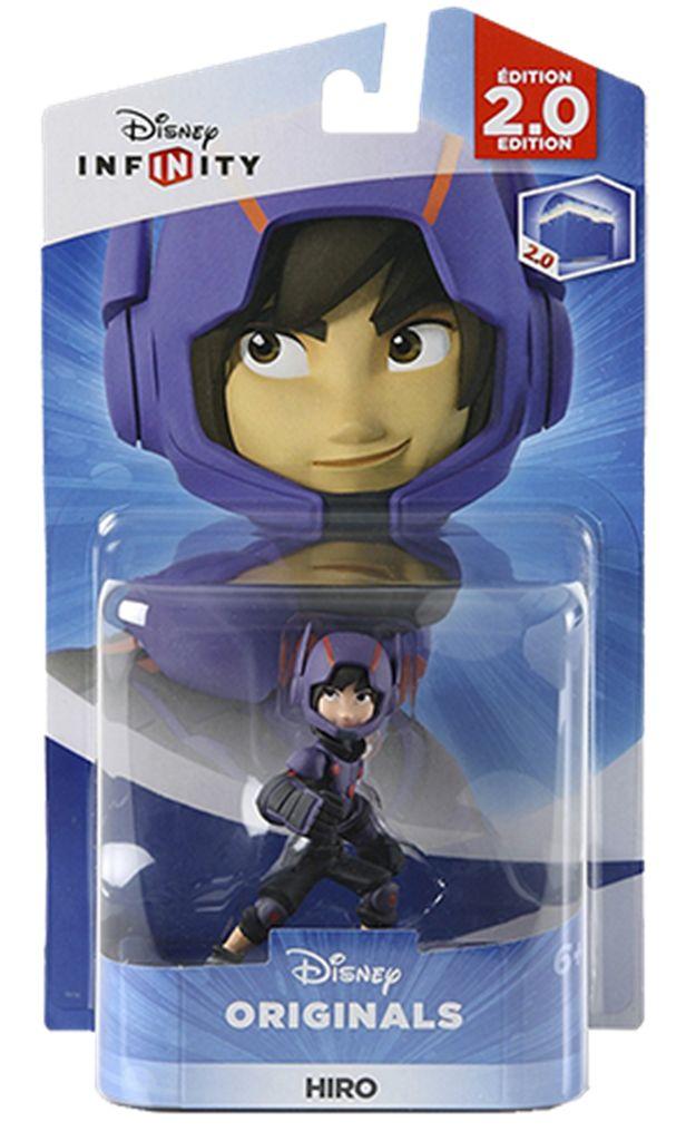 DISNEY Infinity 2.0 Hiro figur DISNEY Infinity 2.0-figurHiro bruger sin microbots og boosterspring, når han skal Super-stealth-spionere.Hiro-figuren kan også bruges til DISNEY Infinity 2.0 Toy Box.