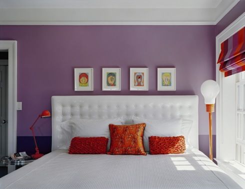 For Age S Simple Purple Bedroom Idp Interior Design Pic