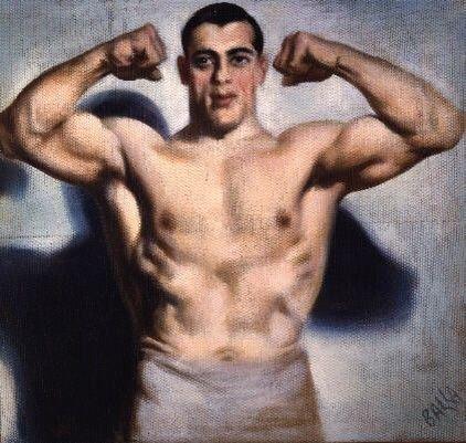 """Giacomo Balla """"Retrato de Primo Carnera"""", 1933"""