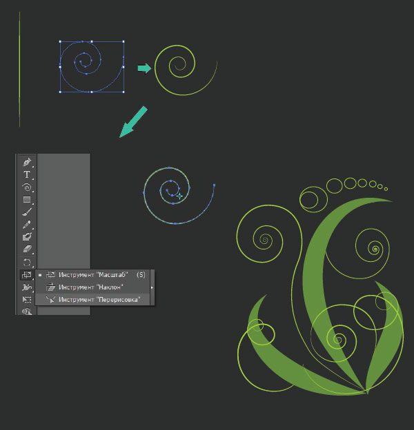 Снова небольшой урок по рисованию листиков и завитков в векторе. Небольшое отступление: когда вы делаете уроки в иллюстратор - не нужно ...