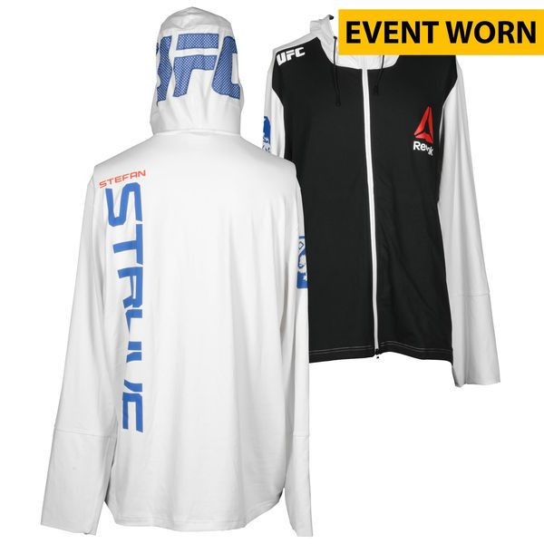 Stefan Struve Ultimate Fighting Championship UFC 190 Rousey vs. Correia Event-Worn Walkout Hoodie - Defeated Minotauro Nogueira via Unanimous Decision - $499.99