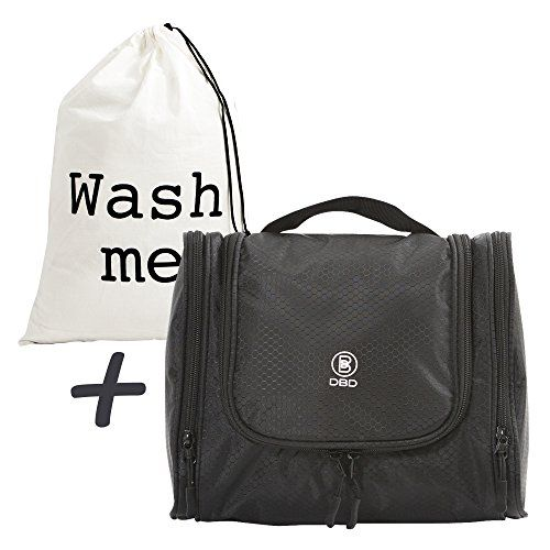 Toiletry Bag; Hanging Travel Organizer Kit for Cosmetics, Makeup, Toiletries, Shaving, in 3 Colors, Fold-Out Travel Bag with Mesh and Zippers Plus Laundry Bag in a Gift Bag; GREAT DEAL!. For product & price info go to:  https://beautyworld.today/products/toiletry-bag-hanging-travel-organizer-kit-for-cosmetics-makeup-toiletries-shaving-in-3-colors-fold-out-travel-bag-with-mesh-and-zippers-plus-laundry-bag-in-a-gift-bag-great-deal/