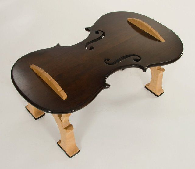Fiddle Coffee Table No 1 by ThomasOrnerCreations