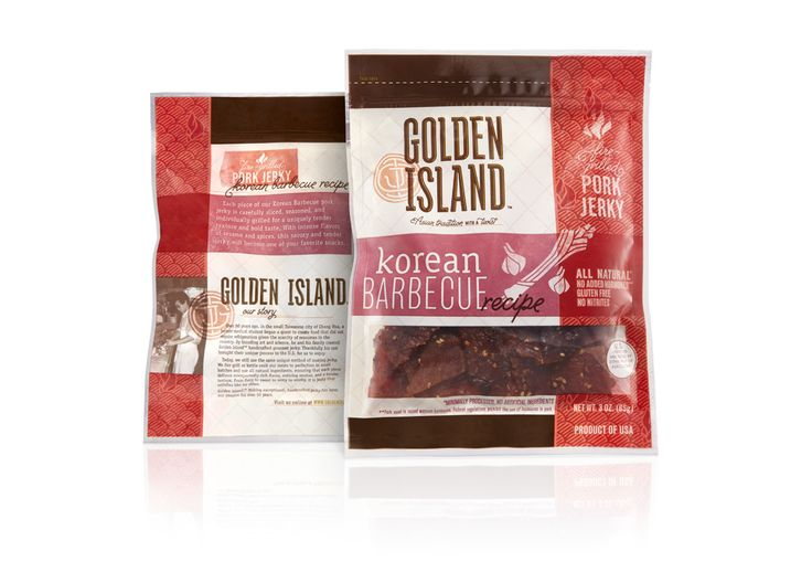 Golden Island jerky by Duffy