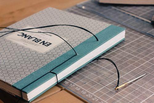 EXPERIMENTA ART Encuadernación artesanal Bookbinding