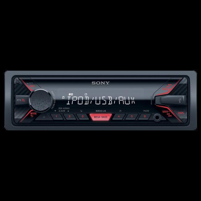 Sony {DSXA200UI} 220W In-Car Mechless Media Receiver with USB/AUX #Sony