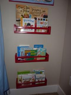 The Inspiration Thief: Home Inspiration: Inexpensive Wall Bookshelves