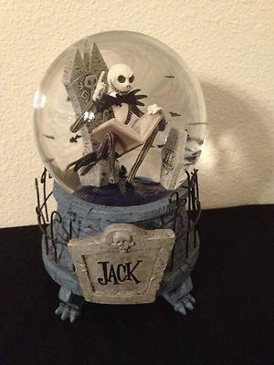 I found 'Disney Nightmare Before Christmas Rare Jack Skeleton Musical Snow Globe' on Wish, check it out!