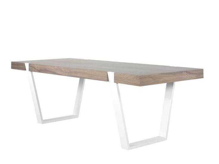 Tavolo da pranzo laccato in legno impiallacciato ARTEA by AZEA design Victor Caetano