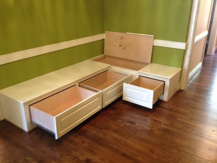 dining room bench seating with hidden storage built ins