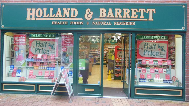 Holland & Barrett in Rugby, Warwickshire  Health food shop that sells a range of vegan products. Good for pasties and sausage rolls.