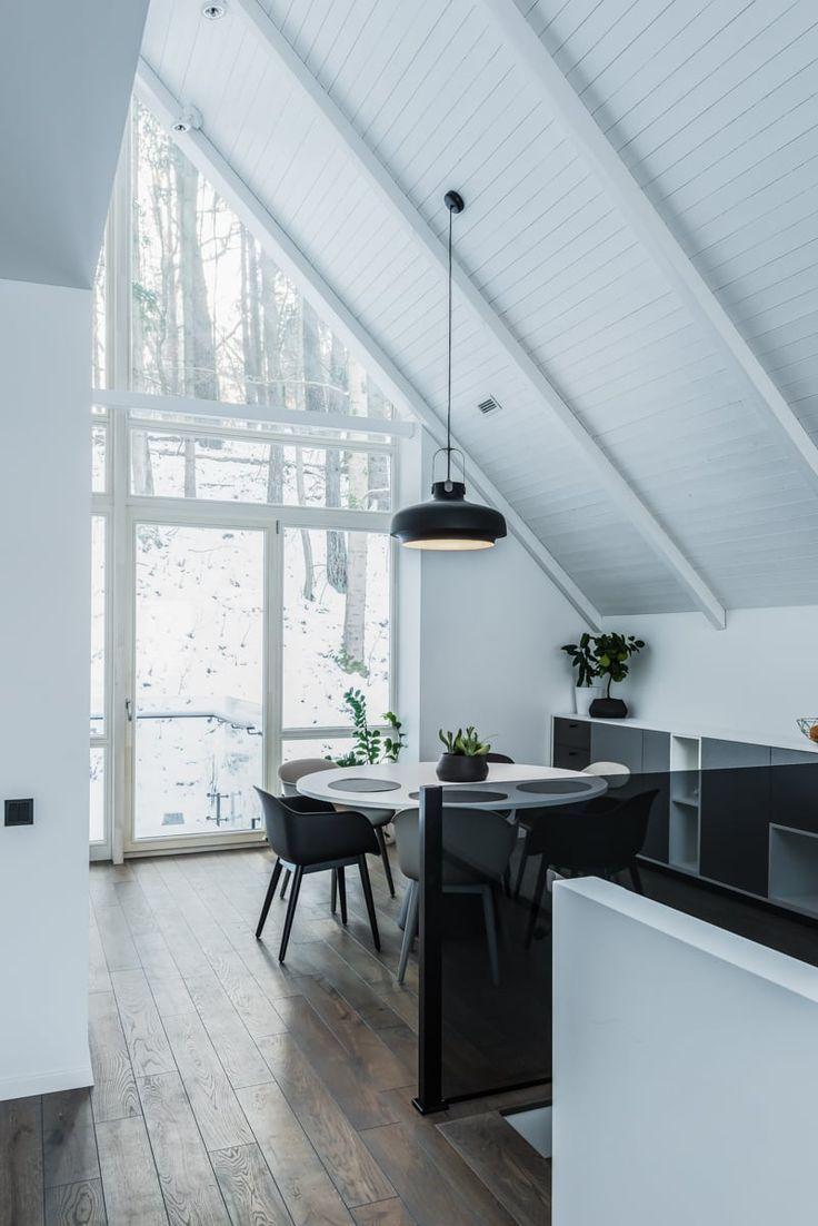 Faszinierend Haus Auf Stelzen Das Beste Von #moderne Innenräume Im Litauischen Wald Hat Die
