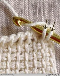 Tunisian Crochet Basics