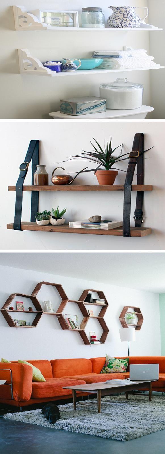 DIY bathroom shelves | diy craft TUTORIALS