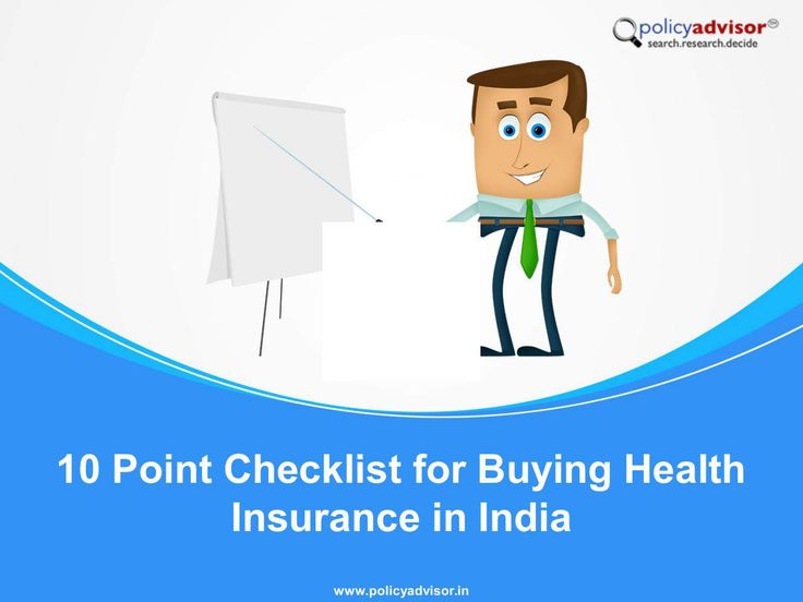 Confused about how to choose the right health insurance plan for you.Simply see this major 10 Point Checklist for Buying Health Insurance in India - http://www.policyadvisor.in/