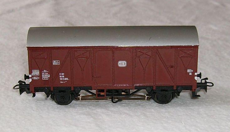 Märklin HO 1:87 Güterwagen 131 5 016-2 DB Schlussbeleuchtung fehlt