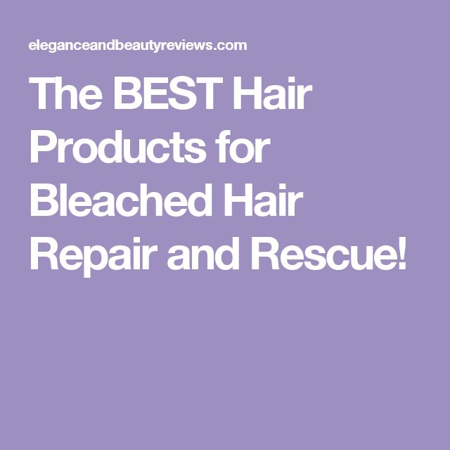 Phenomenal The 25 Best Bleached Hair Repair Ideas On Pinterest Hair Hairstyle Inspiration Daily Dogsangcom