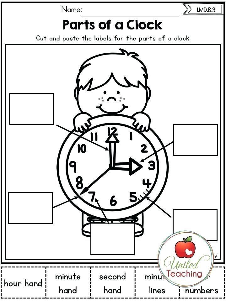 6 1st Grade Clock Worksheets First Grade Worksheets First Grade Math Homeschool Math First grade time worksheets