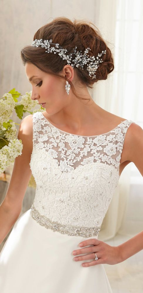 lace wedding dresses | so amazing top ,and i want it for my wedding ,it's so beautiful