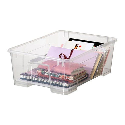 for kitchen supplies: SAMLA Box IKEA, 1,99€