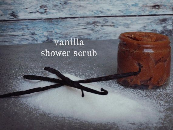 Vanilla Shower Scrub by ASTPRODUCTS on Etsy