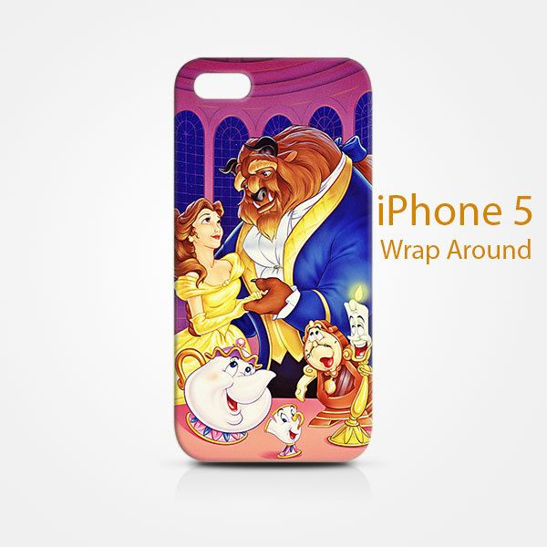 Beauty and The Beast iPhone 5 5S 5SE Case Cover Wrap Around