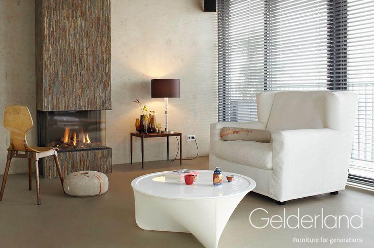 Gelderland fauteuil 2170 Sky High by Jan des Bouvrie #gelderland #dutchdesign #interieur #jandesbouvrie