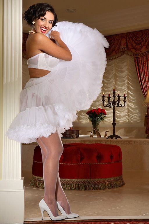Crinolines - Chiffon Petticoat | Heads Up! | Pinterest ...