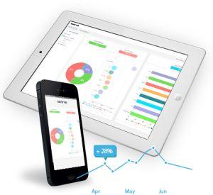 Build HTML5 dashboards with beautiful data visualization
