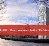 World's First 3D-Printed House Is Being Built In Amsterdam