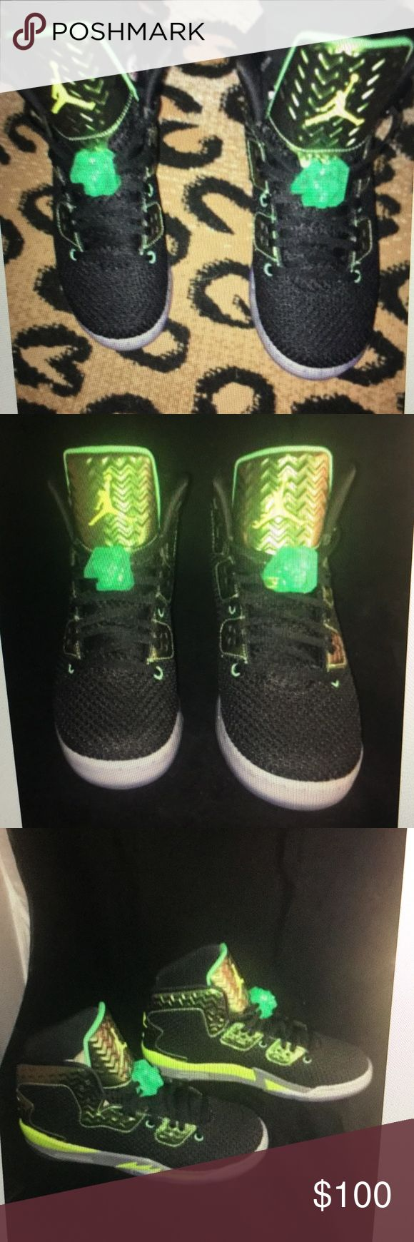 Nike Air Jordan Spike Lee NY green ghost RARE 7.5Y 7.5 Y , 9, 9.5 women's. Air Jordan Shoes Sneakers