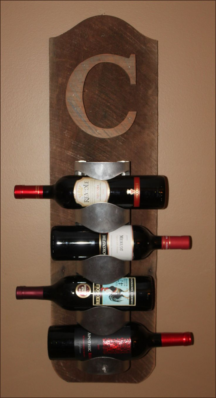 Homemade Wine Rack Here is a super easy and quick project that I did for some extra bottles of mead that I had The wine lovers Discover thousands of images about