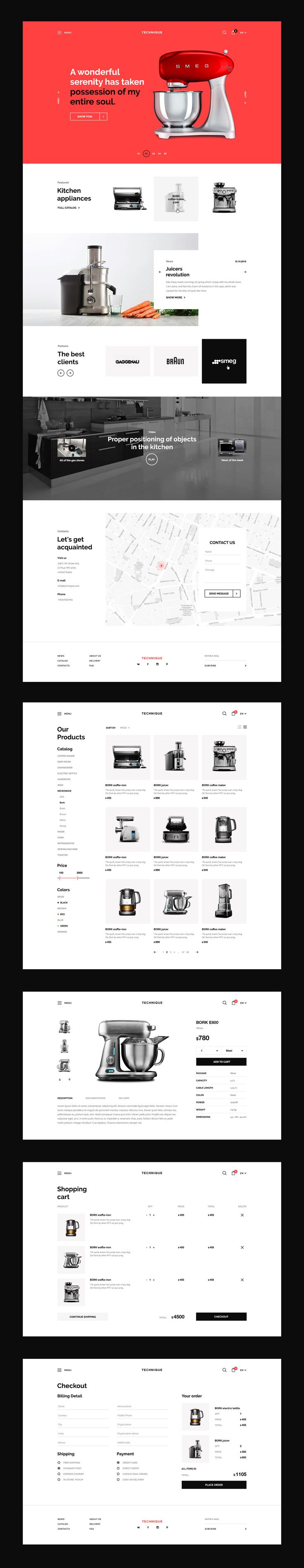 Techinque on Behance
