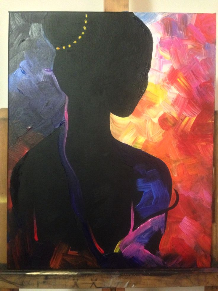Dancing on my own but never alone Acrylic by Nicole