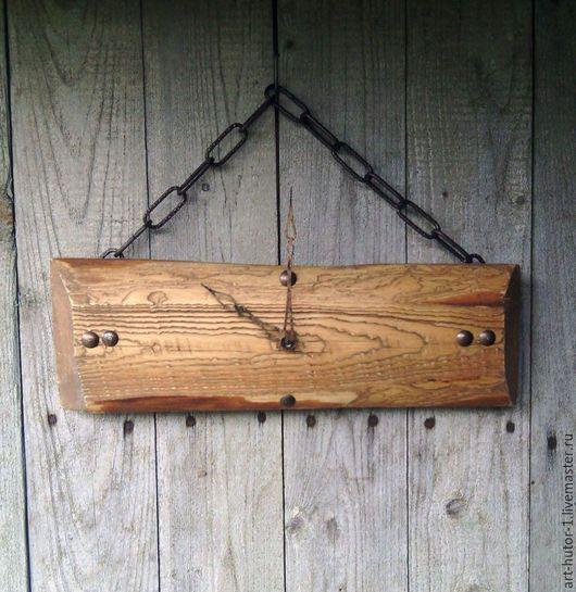 """Часы для дома ручной работы. Ярмарка Мастеров - ручная работа. Купить Деревянные часы """"Minimum"""". Handmade. Деревянные настенные часы"""