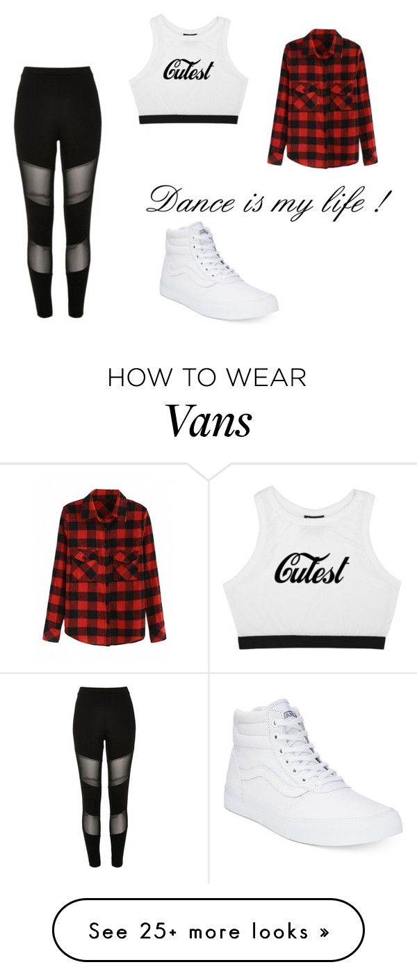 """""""Sans titre #98"""" by littlestar-3 on Polyvore featuring River Island and Vans"""