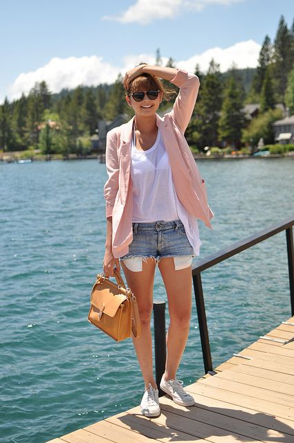 pink casual. not the shorty shorts