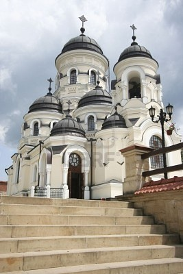 Christian Church From The Capriana Monastery In Moldova