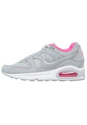 Nike Sportswear AIR MAX COMMAND - Tenisówki i Trampki - wolf grey/pink pow - Zalando.pl