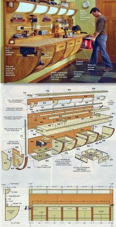 Wall Hung Workbench Plan - Workshop Solutions Projects, Tips and Tricks | WoodArchivist.com