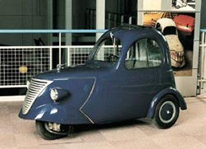 The 1949 DAF-kini from the Netherlands