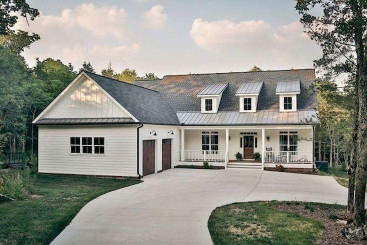 80 Modern Farmhouse Exterior Design Ideas