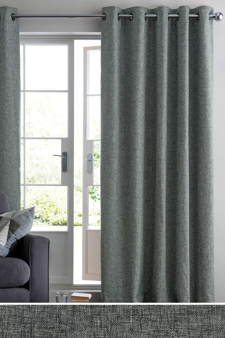 Buy vancouver expressions linen mirror rectangular online cfs uk - Buy Boucl Blend Eyelet Curtains From The Next Uk Online Shop