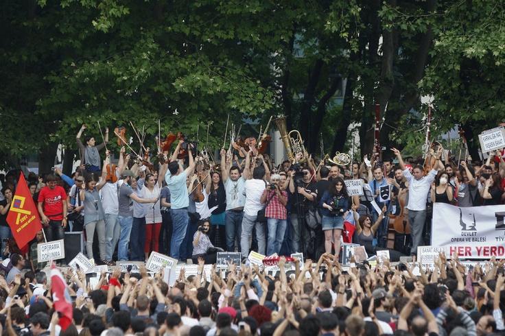 Taksim Gezi Parkı Protestosu