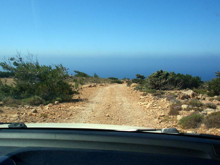 Ο δρόμος για την Τρυπητή! - The road to Tripiti!