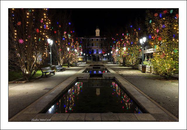 L'oeil et les mots: Illuminations de Noël