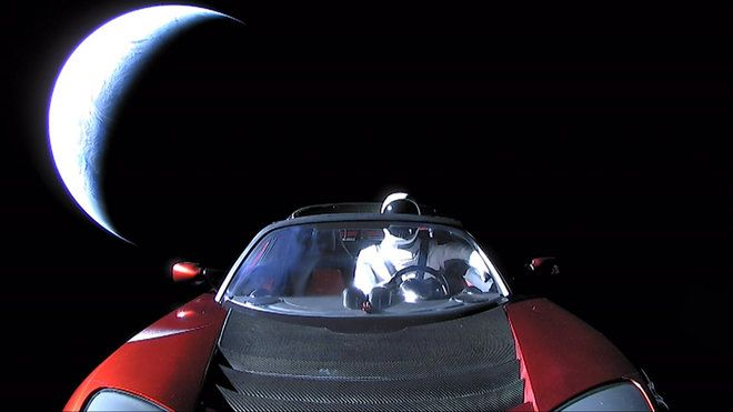 Elon Musk's Tesla Roadster and Starman Leave Earth Forever in This Final Photo  7.2. 2018,  www.netkaup.is NCO eCommerce, IoT www.nco.is