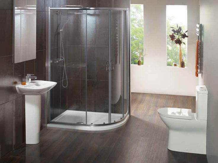1200 x 800 Offset Double Door Quadrant Shower Enclosure   Image 1. Best 25  Complete bathroom suites ideas on Pinterest   Modern