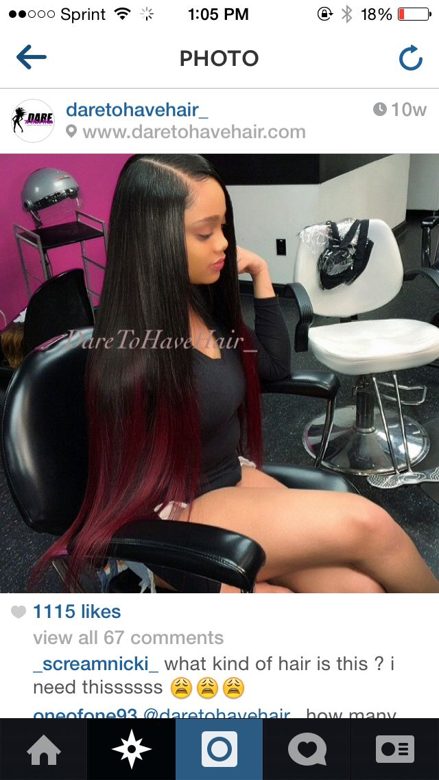 Side part sew in laid