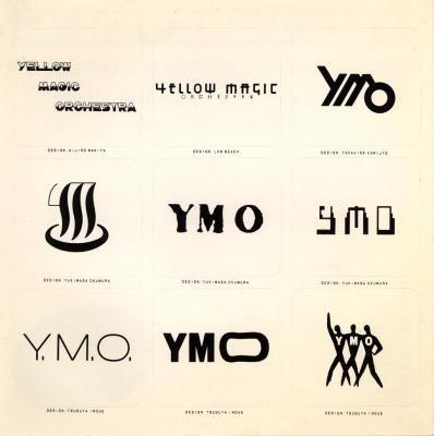 画像: いろいろなデザインの「YMO」 - YMO ステッカーのレビュー | ジグソー